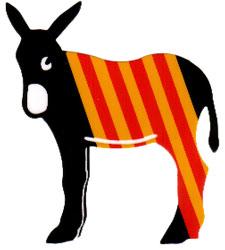 Úton Spanyolország felé - Katalán szamár