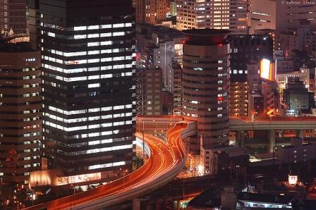 Legérdekesebb út - GateTower, Osaka, Japán