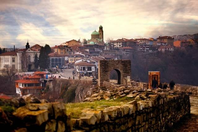 Veliko Tarnovo – Kilátás az erődből