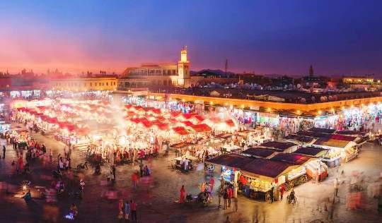 Legjobb ár-értékarányú úti célok 2017-re - Marakesh, Marokkó