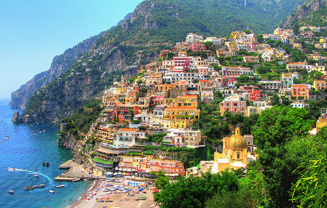 Fapados úti célok 2018 - Amalfi-part, Olaszország