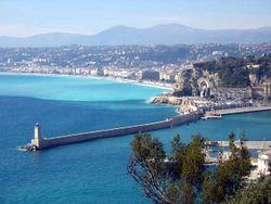 Nizza francia riviéra - Nizza (Nice), kikötő