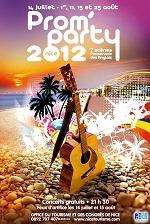 Nizza francia riviéra - Prom Party plakát
