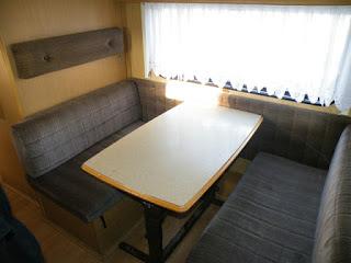 lakóautós fotók - a mi lakóautónk, étkező-nappali