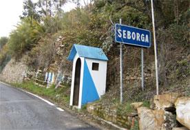 utazás lakóautóval kezdetek - Seborga őrbódé