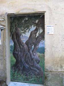 Nizza francia riviéra - Valloria, festett ajtók 2.
