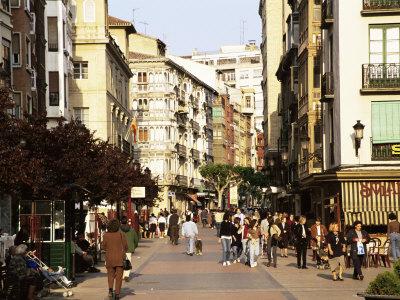 El Camino - Szent Jakab út, Logroño sétáló utca