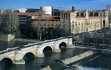 El Camino - Szent Jakab út, León Spanyolország Benesga folyó
