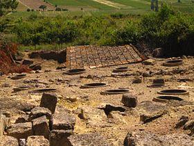 Utazás lakóautóval Béziers - oppidum d'Ensérune