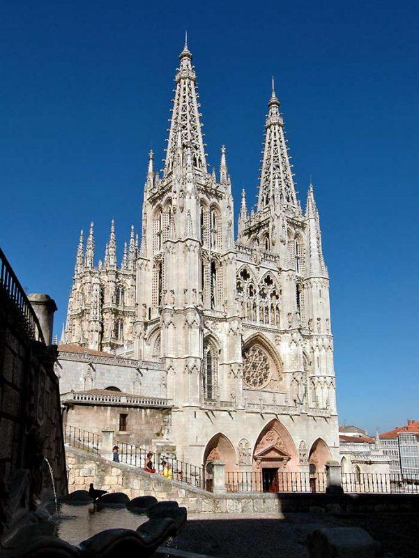 El Camino - Szent Jakab út, Burgos Spanyolország katedrális