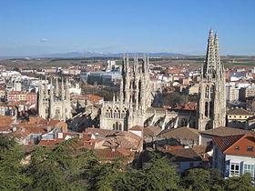 El Camino - Szent Jakab út, Burgos Spanyolország látkép