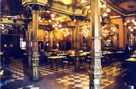 El Camino - Szent Jakab út, Pamplona Café Iruna