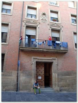 """El Camino - Szent Jakab út, Logroño """"donativo"""" zarándokszállás"""
