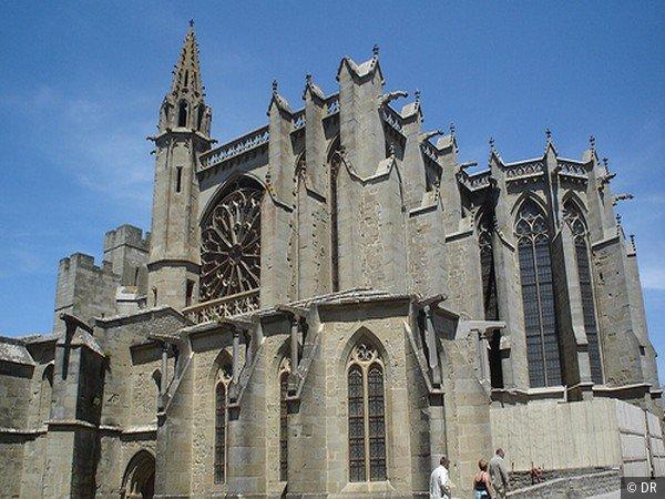 Utazás lakóautóval Carcassonne - Basilique Saint-Nazaire