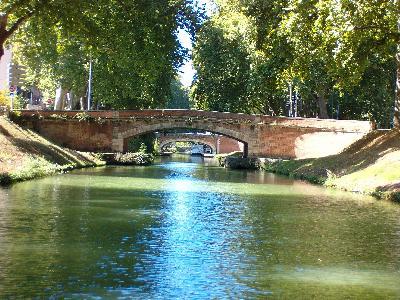 Toulouse lakóautóval - Canal du Midi