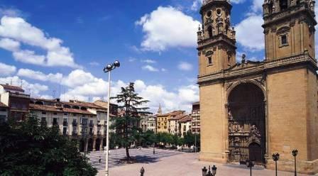 El Camino - Szent Jakab út, Logroño Concatedral de Santa Maria de la Redonda