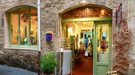 Utazás lakóautóval Béziers - Pezenas butik