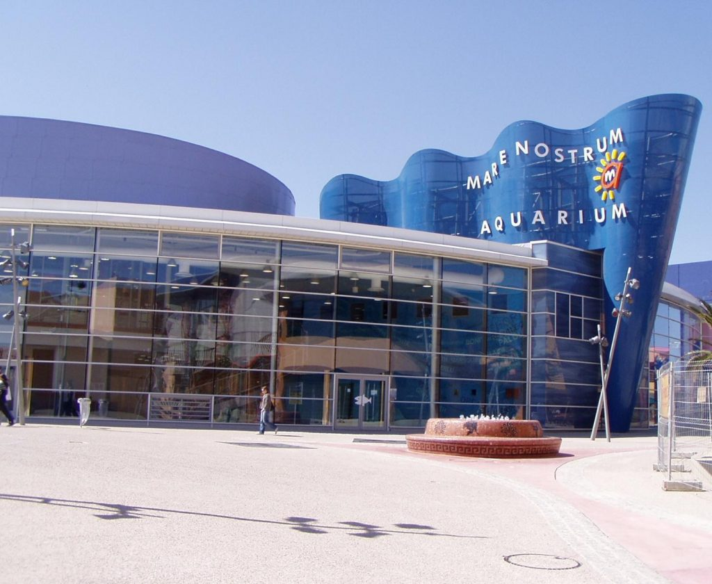 Utazás lakóautóval Montpellier - Odysseum, akvárium és korcsolyapálya
