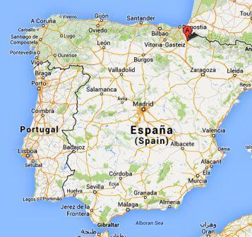 El Camino - Szent Jakab út, Pamplona Spanyolország