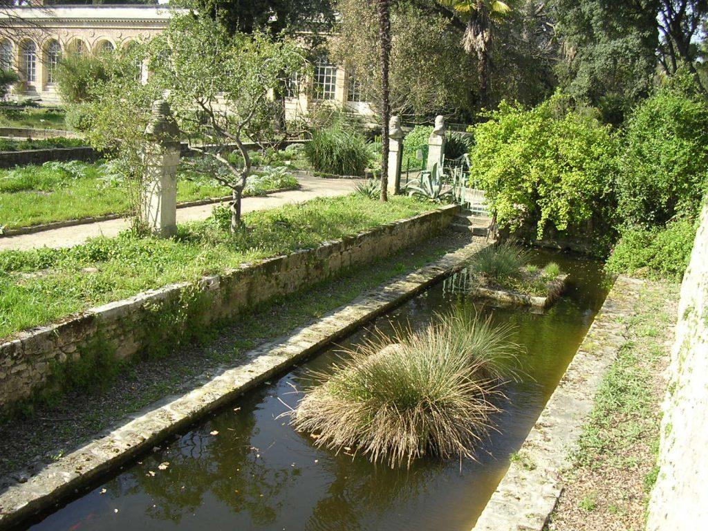 Utazás lakóautóval Montpellier - füvészkert, Jardin des Plantes