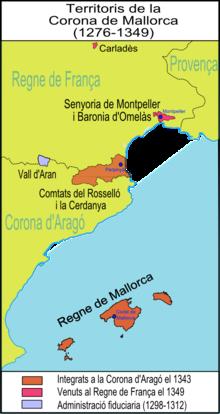 Úton Spanyolország felé - Mallorkai Királyság