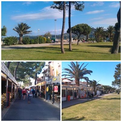 Úton Spanyolország felé - Argeles sur Mer