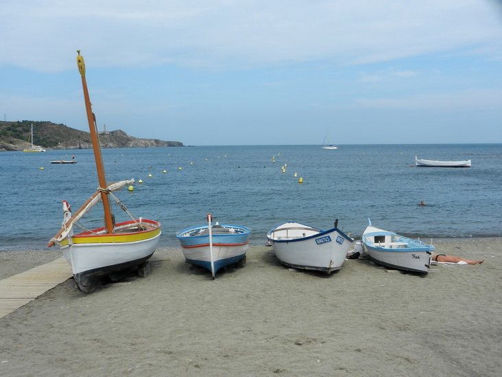 Úton Spanyolország felé - Site de Paulliles, tengerpart