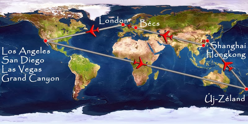 úti cél - világkörüli út