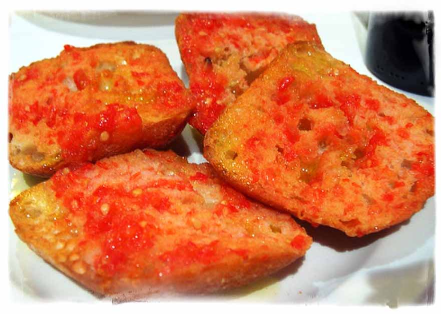 tapas receptek - pan e tomate