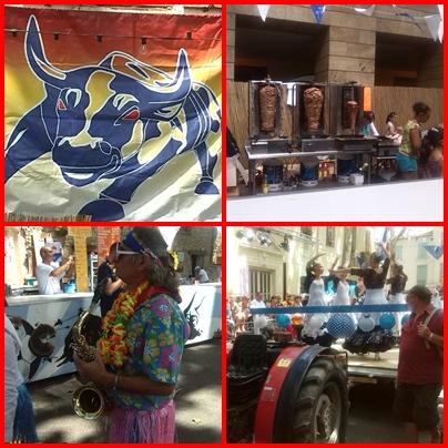 bikaviadal bikafuttatás - Feria de Céret 2014 hangulat