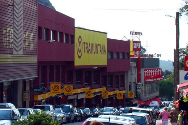 Furcsa helyek - Le Perthus, a spanyol oldal