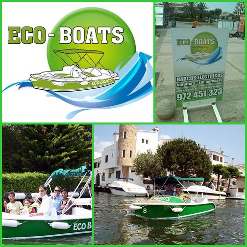 Empuriabrava - csatornatúra eco boats-al