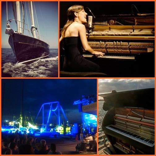 Empuriabrava után koncert a tengerparton