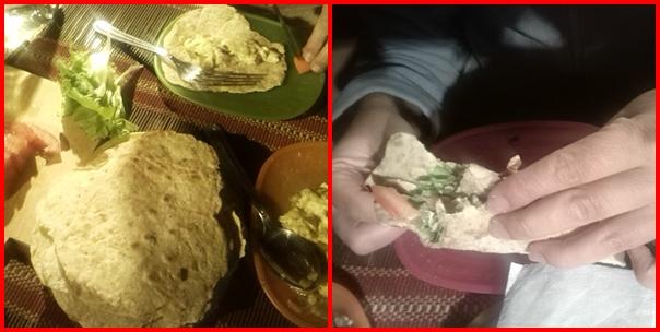 Kaktusz a konyhában - kaktuszos omlettes tortilla montage