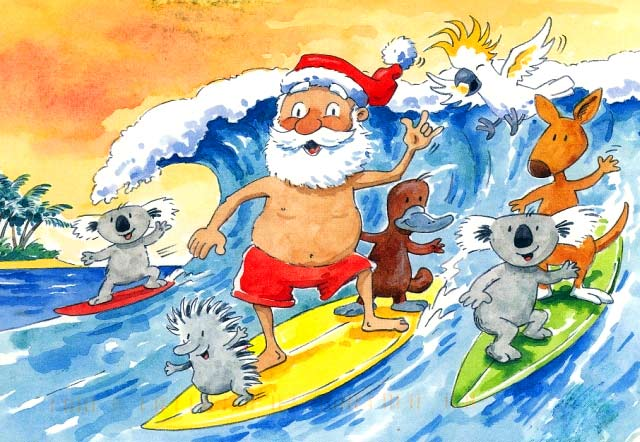 Karácsonyi szokások Ausztrália