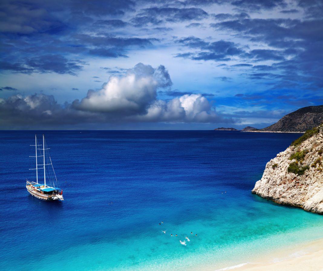 Kaputas Beach, a török riviéra gyöngyszeme
