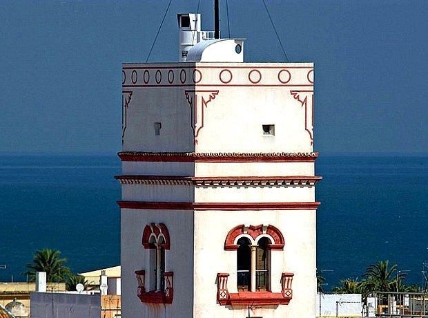 torre tavira cadix andalousie
